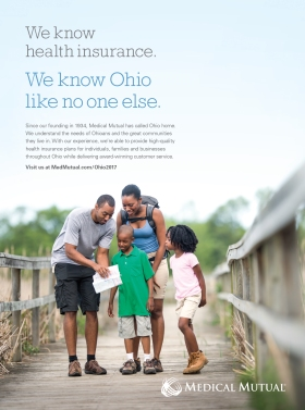 Brand message for ad in Cleveland Magazine